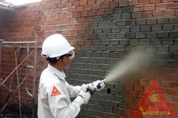 Thi công chống thấm tường nhà - Delta Việt Nam